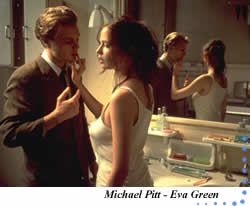 Michael Pitt – Eva Green
